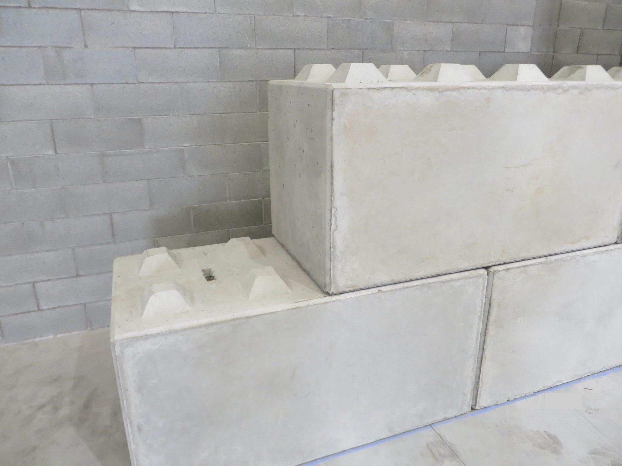 Blocchetti Di Cemento Per Recinzioni.Muri Cement Block Blocchi Per Muri A Secco Prefabbricati